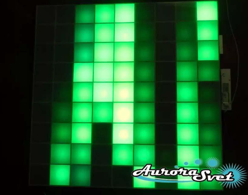 Светодиодная пиксельная панель напольная F-111-9*9-4-С