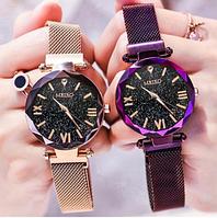 Часы женские Starry Sky золотые очень красивые 4 цвета