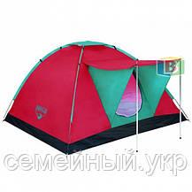 Палатка 3-х местная со спальником. Акция!. Размер палатки: 210х210х120 см. Bestway, фото 3