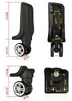 Колеса для чемоданов и дорожных сумок.Диаметр колеса 56mm ЧК-8018  (4 шт)