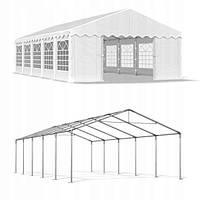 Павильон свадебный, торговый, гаражный 5x10 м PE (полиэтилен) 240 г/м², фото 1