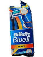 Бритвенный станок Gillette Blue 2 plus, 6шт