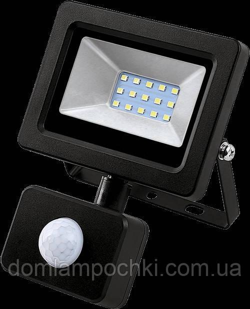 Светодиодный Led Прожектор c датчиком NEOMAX 10W 220V IP65 6000K