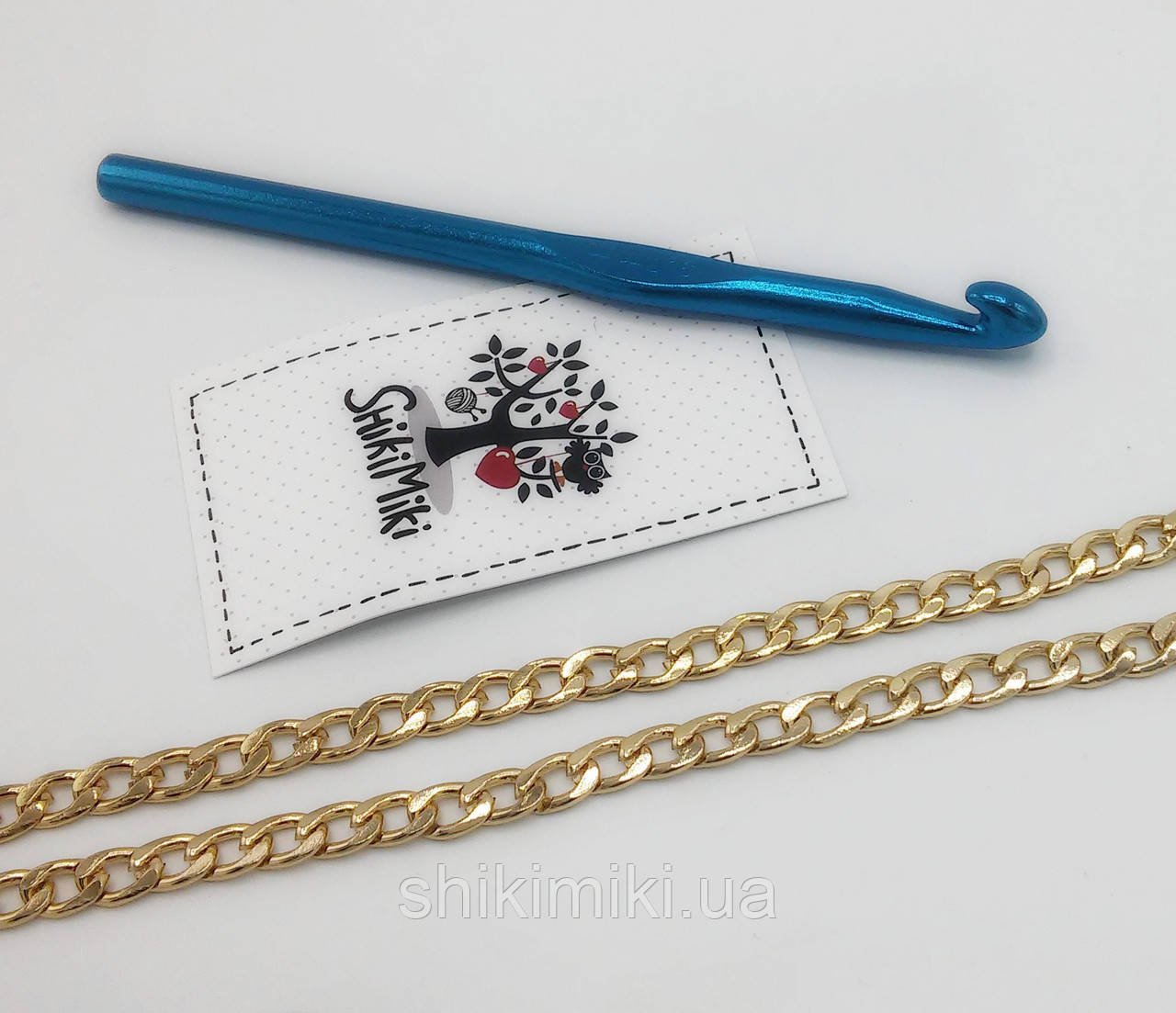 Цепочка для сумки мелкая Z23-3, цвет золото