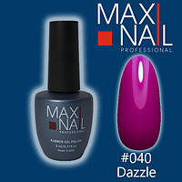 Гель-лак MaxiNail rubber gel polish №040