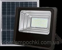 Светодиодный Led Прожектор c солнечной панелью и пультом NEOMAX 25W 220V IP65 6000K