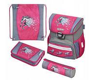 Школьный рюкзак для девочек Herlitz LOOP PLUS POWER HORSE