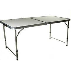 Стол раскладной плюс 4 стула Folding table серый