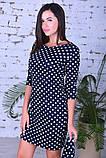 Женское модное платье,ткань французский трикотаж,размеры:44,46,48., фото 3