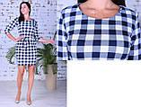 Женское модное платье,ткань французский трикотаж,размеры:44,46,48., фото 4