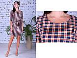 Женское модное платье,ткань французский трикотаж,размеры:44,46,48., фото 6