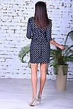 Женское модное платье,ткань французский трикотаж,размеры:44,46,48., фото 7