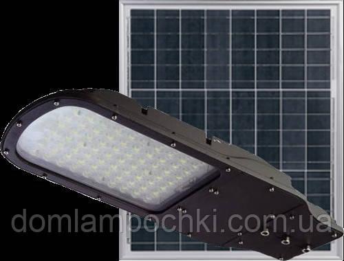 Светодиодный Led Прожектор c солнечной панелью и пультом NEOMAX 30W 220V IP65 6000K