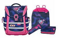 Школьный рюкзак для девочек McNeill + 2 пенала + сумка для спортивной обуви
