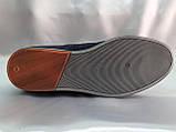 Летние мужские кеды,слипоны на шнурках Bertoni, фото 9
