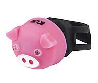 Комплект мигалок KLS PIGGY  Pink