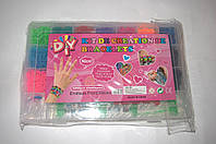 Набор резиночек Rainbow Loom Kit de Creation de Bracelets 5000 шт. со станком (разборной станок), фото 1