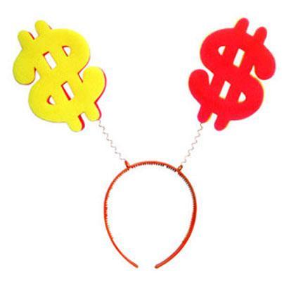Антенка обруч  Bonita  Доллар Разноцветный