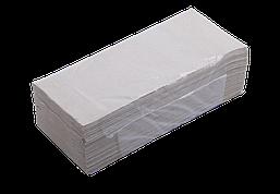 Полотенца бумажные макулатурные Buroclean V-образные 160 шт серые