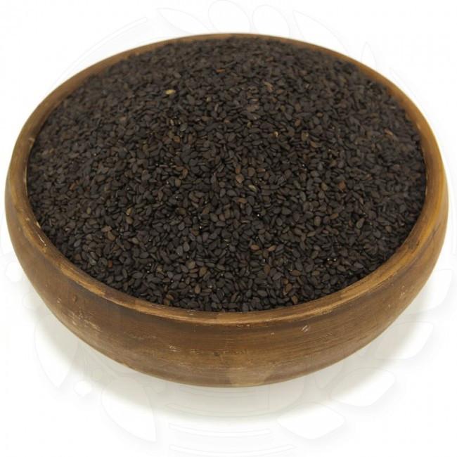 Кунжута черного натуральные семена 0.25кг