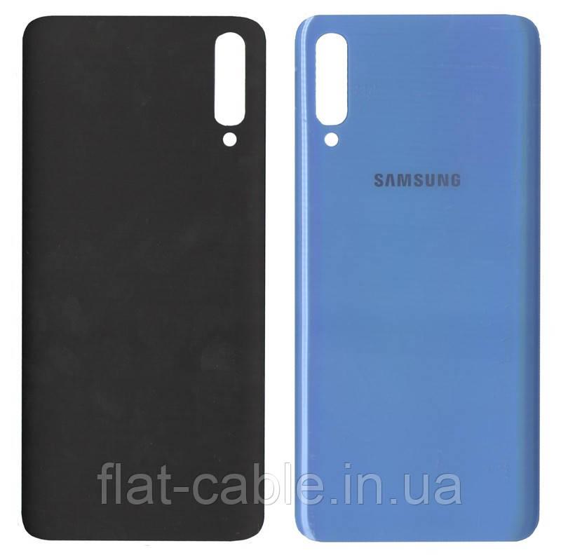 Крышка задняя Samsung A705 Синяя