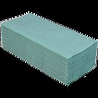Полотенца бумажные мажные макулатурные Buroclean V-образные 160 шт зелёные
