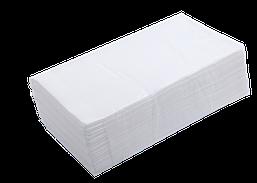 Полотенца бумажные целлюлозные Buroclean V-образные 160 шт 2х слойные белые