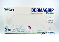 """Перчатки латексные ДермаГрип Классик (DermaGrip Classic, WRP), размер """"XS"""", текстурированные, 50пар/упак."""