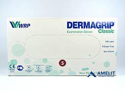 """Перчатки латексные ДермаГрип Классик, """"S"""", текстурированные (DermaGrip Classic, WRP), 50пар/упак."""
