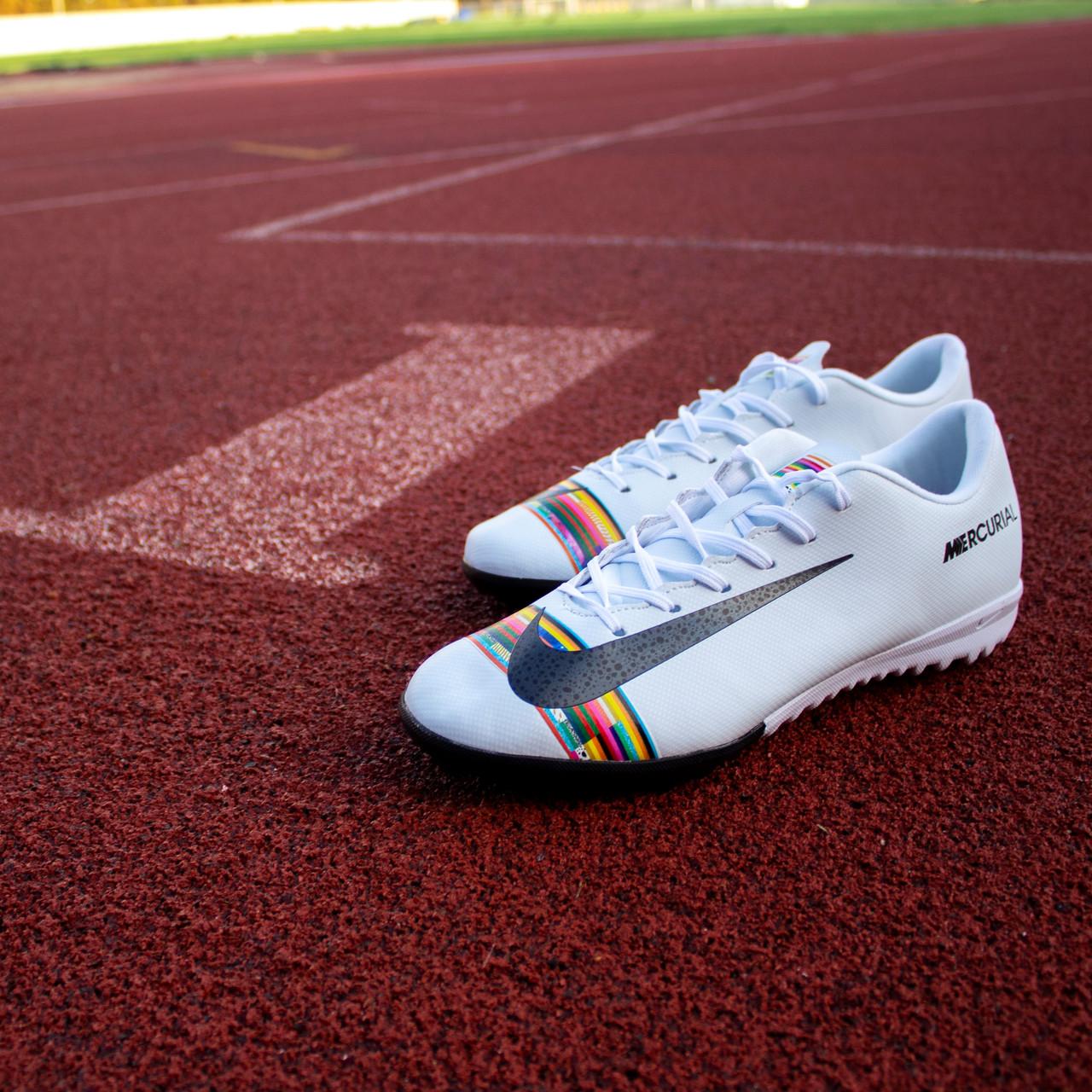 Сороконожки Nike Mercurial Vapor XII Academy CR7 TF (41-44)