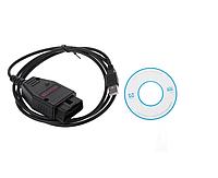 Диагностический адаптер VAG K+CAN Commander V1.4, чип FTDI PIC18F258 + FT232RL