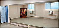 Монтаж зеркал на подложку из ДСП, фото 1