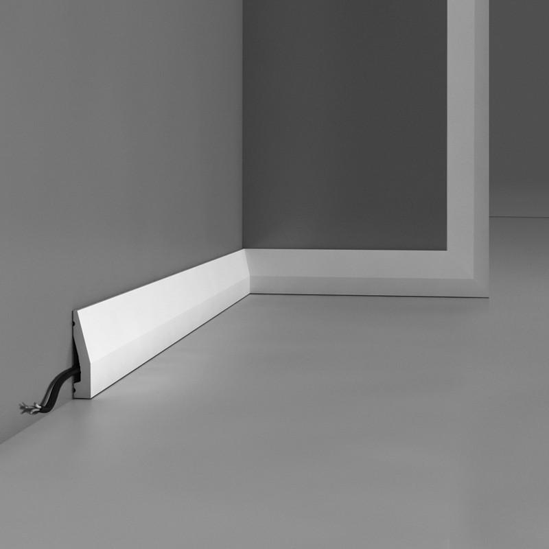 Плинтус, многофункциональность Orac Decor  SX159, 200 x 6 x 1.2 cm