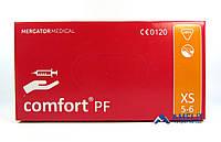 """Перчатки латексные Комфорт ПФ, """"XS"""", текстурированные (Comfort PF, Mercator Medical), 50пар/упак., фото 1"""