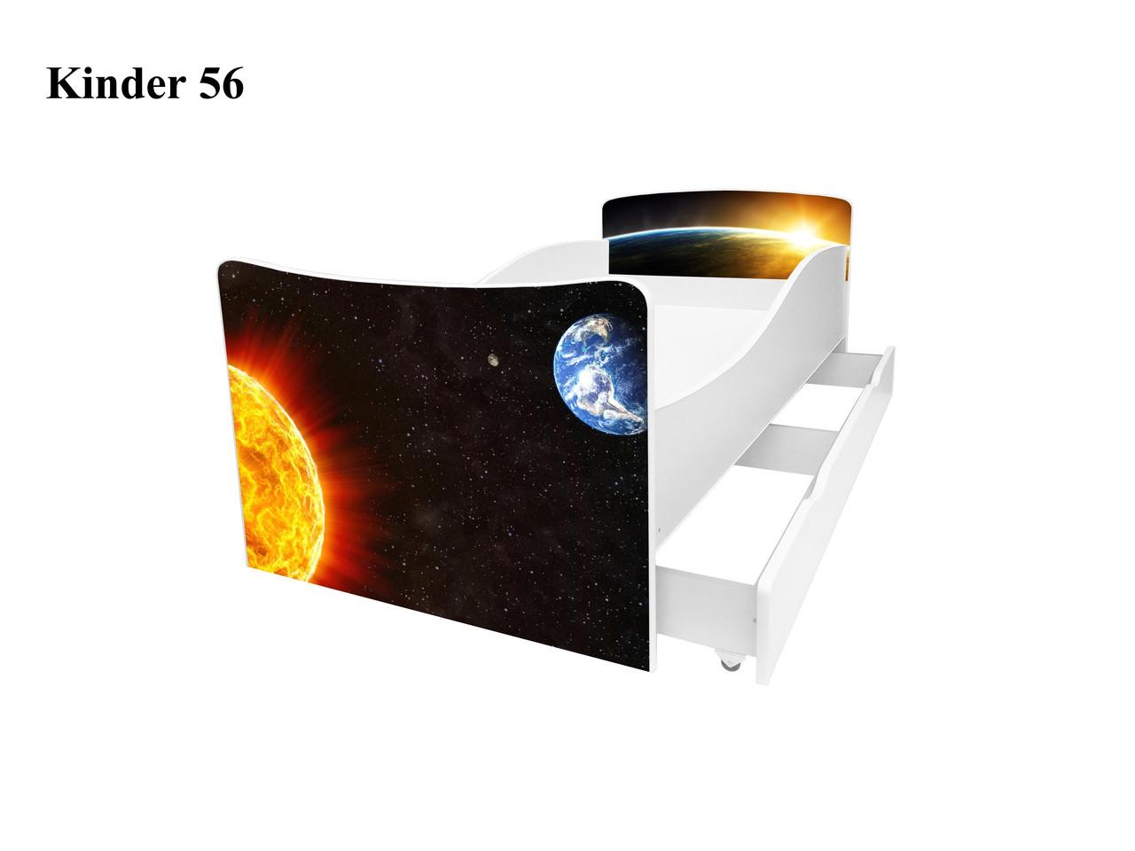 Детская кровать Киндер 56. Космос.