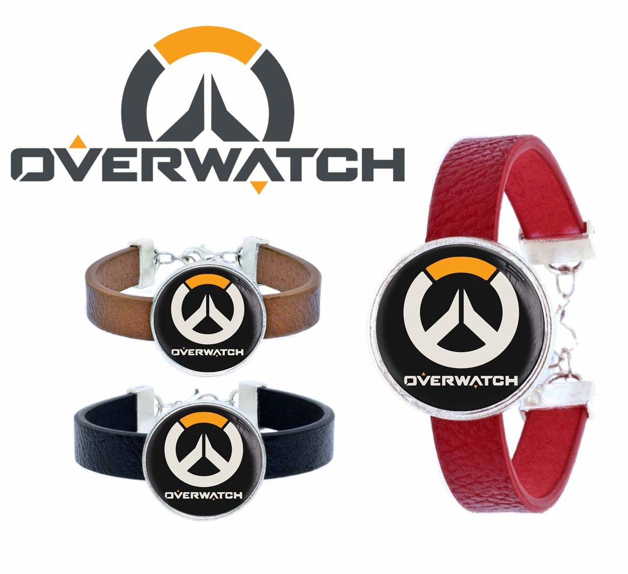 Браслет Overwatch с лого
