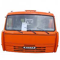 Кабіна 53205 ОРАНЖ. з вис/дахів. без сп.місця в зб (вир-во КАМАЗ), 53205-5000011