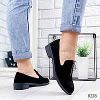 Туфли балетки женские Chang черные 8228