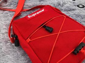 """Сумка Supreme """"Червона"""", фото 2"""