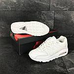 Чоловічі кросівки Nike Air Max (білі), фото 3