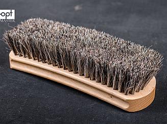 Щетка для обуви, дерево бук, конский волос, арт. sk-154-80-47