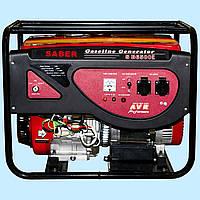 Генератор бензиновый SABER SB6500Е (5.0 кВт)