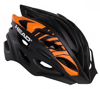 Велошлем, Шлем HEAD Helmet MTB D302/M-L Черный с оранжевым