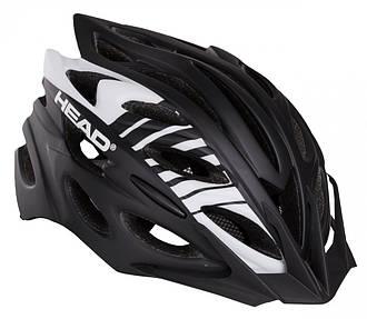 Велошлем, Шлем HEAD Helmet MTB D302/M-L Чёрный с серым