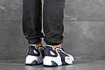 Чоловічі кросівки Nike Zoom 2K (біло-сині), фото 3