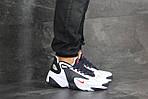 Чоловічі кросівки Nike Zoom 2K (біло-сині), фото 6