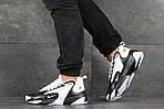 Чоловічі кросівки Nike Zoom 2K (біло-чорні), фото 5
