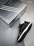 Чоловічі кросівки Adidas Nite Jogger (чорно/білі), фото 2