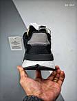 Чоловічі кросівки Adidas Nite Jogger (чорно/білі), фото 4