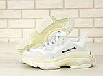 Кросівки Balenciaga Triple S (білі) Унісекс, фото 5